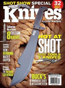 Knives Illustrated Magazine March/April 2014
