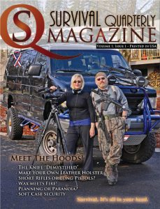 Survival Quarterly Magazine Volume 1 Issue 1