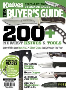 Knives Illustrated Magazine January/February 2015