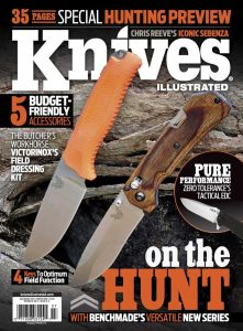 Knives Illustrated Magazine July/August 2015