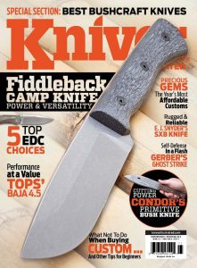 Knives Illustrated Magazine November 2015