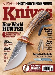 Knives Illustrated Magazine December 2015