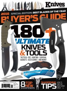 Knives Illustrated Magazine Buyers Guide January/February 2016
