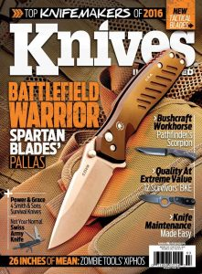 Knives Illustrated Magazine March/April 2016