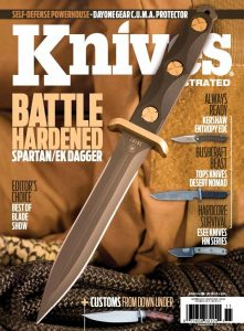 Knives Illustrated Magazine November 2016