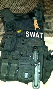 C.U.T. 4.0 on a SWAT rig ready for action