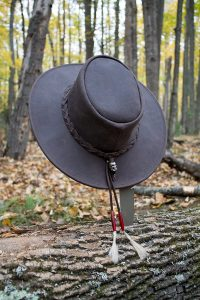 My hat in the woods