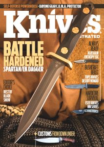 Knives Illustrated Magazine November