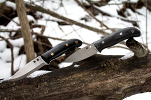 Spyderco Proficient and Spyderco Bushcraft