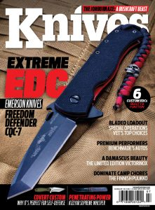 Knives Illustrated Magazine July/August 2017