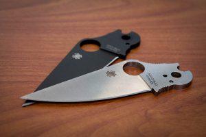 Spyderco Paramilitary 2 blades