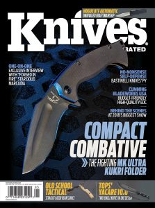 Knives Illustrated Magazine May/June 2018