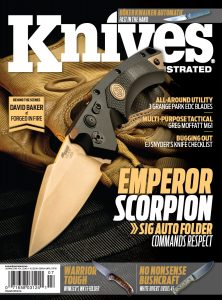 Knives Illustrated Magazine July/August 2018