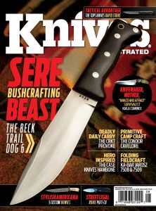 Knives Illustrated Magazine July/August 2019